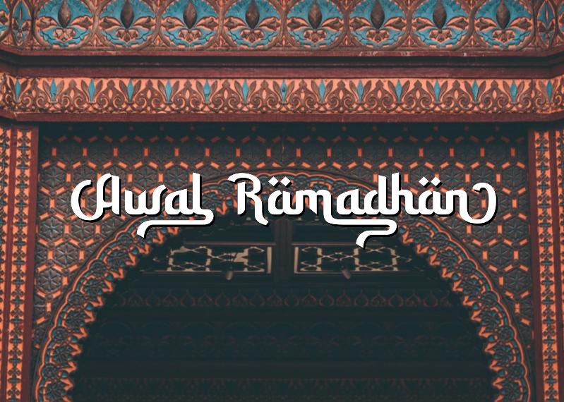 Download Kumpulan 7 Font Mirip Huruf Arab Keren Terbaik Terbaru