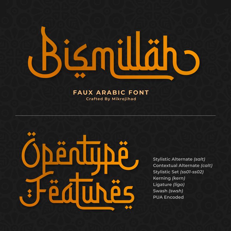 Download Kumpulan 7 Font Mirip Huruf Arab Keren Terbaik Terbaru 2