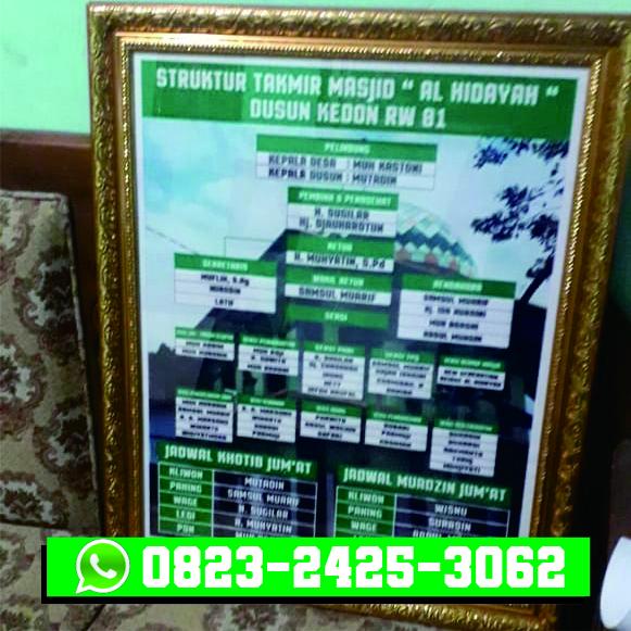 Jasa Pembuatan Banner Foto Bingkai Fiber Muntilan Mungkid Magelang 2