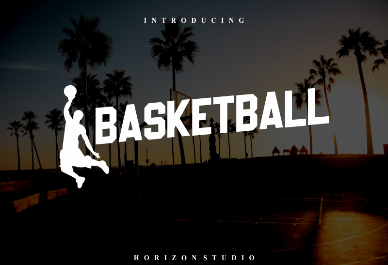 Kumpulan 5 Font Untuk Desain Kaos Casual Keren Terbaik Terbaru Basketball