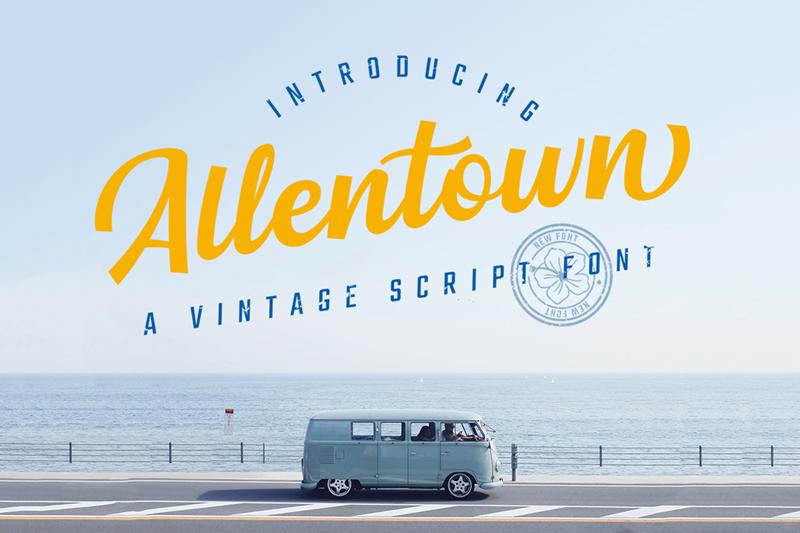 Kumpulan 5 Font Unik Terbaik Terbaru Paling Populer Allentown