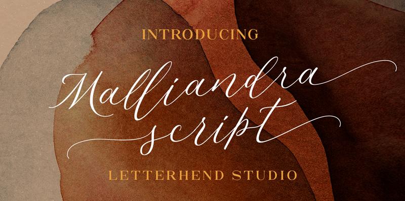 Kumpulan 7 Font Latin Mirip Tanda Tangan Terbaik Terbaru Malliandra
