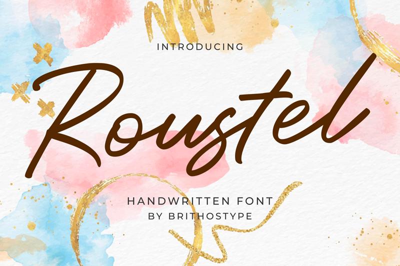 Kumpulan 7 Font Latin Mirip Tanda Tangan Terbaik Terbaru Roustel