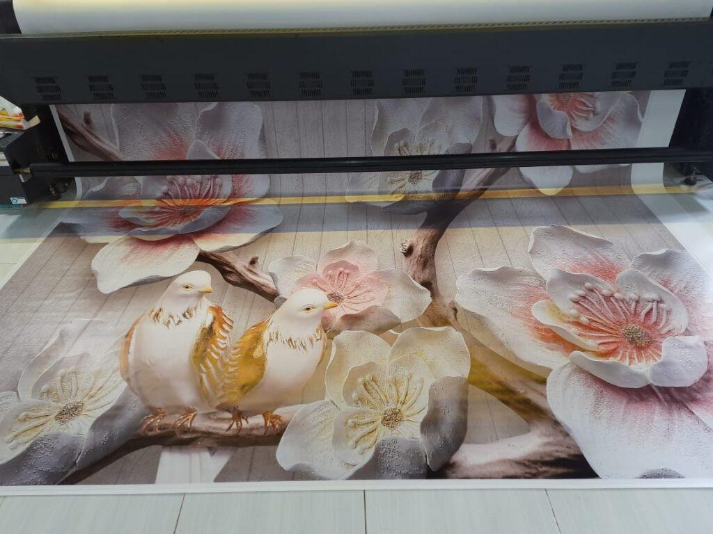 Harga Jasa Cetak Wallpaper Dinding Custom Murah